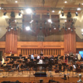 Brussels Philharmonic recording session